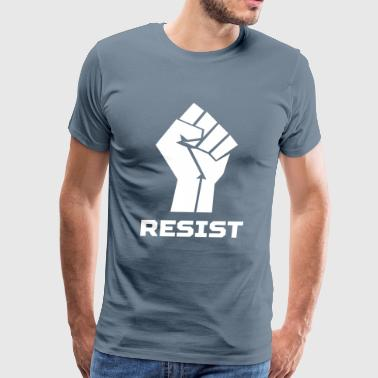 Resist Revolution Hand - Men's Premium T-Shirt