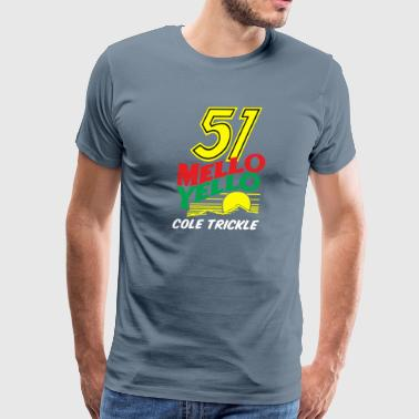 51 Mello Yello 51 Cole - Men's Premium T-Shirt