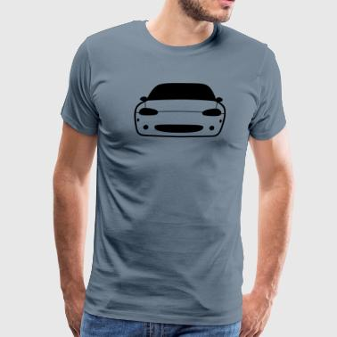 JDM Car eyes Miata NB | T-shirts JDM - Men's Premium T-Shirt