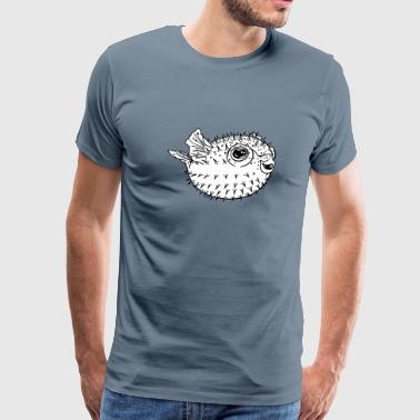 Puffer fish - Men's Premium T-Shirt