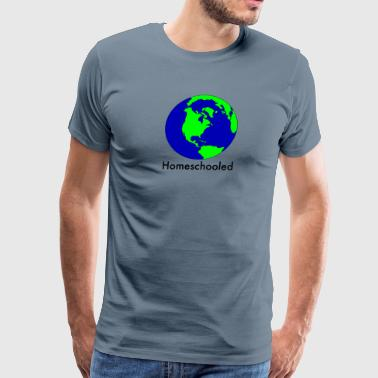 Homeschooled World - Men's Premium T-Shirt