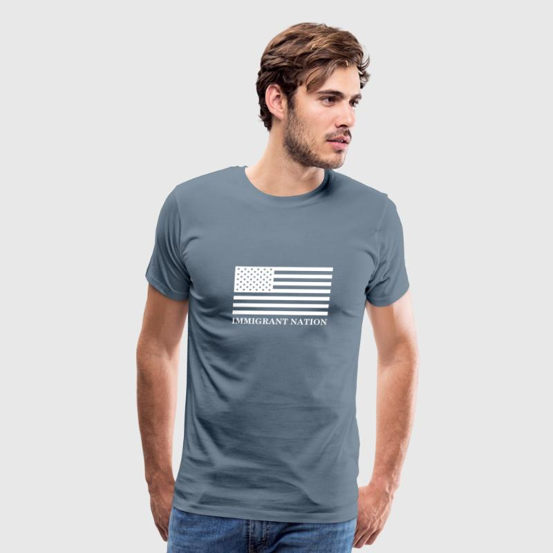 Immigrant Nation - Men's Premium T-Shirt