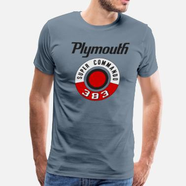 Satellite Plymouth - Men's Premium T-Shirt
