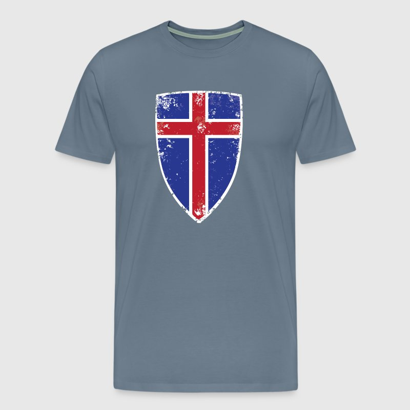 Flag of Iceland - Men's Premium T-Shirt