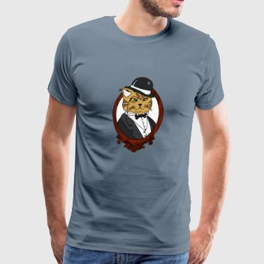 Fancy Cat - Men's Premium T-Shirt