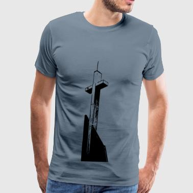 Steeple Cross - Men's Premium T-Shirt