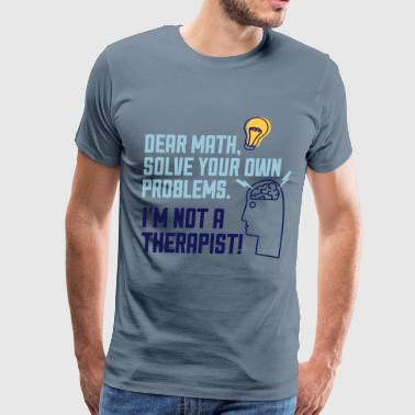 Math Problems - Men's Premium T-Shirt