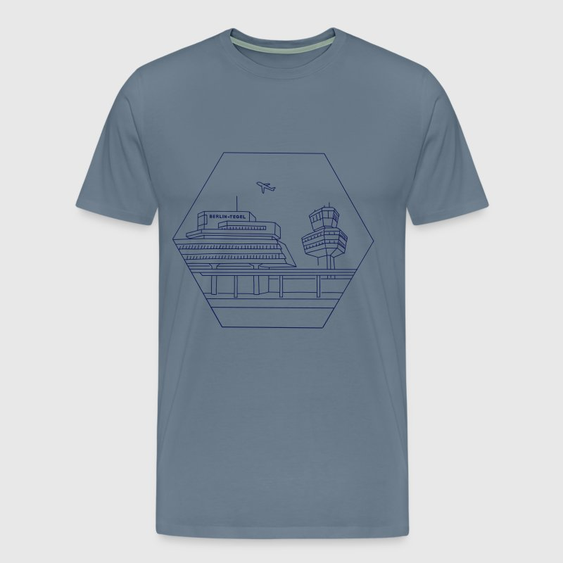 Airport Tegel in Berlin - Men's Premium T-Shirt