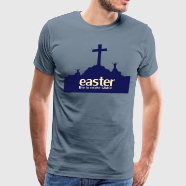 easter time to receive - Men's Premium T-Shirt