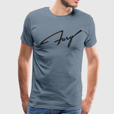 Plymouth Fury script - Men's Premium T-Shirt
