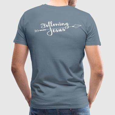 Following Jesus - Men's Premium T-Shirt