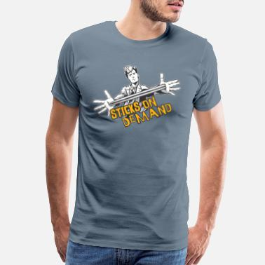 Stage Sticks on demand Drums - Men's Premium T-Shirt