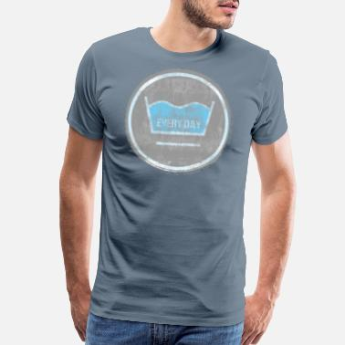 Sea Wash washing - Men's Premium T-Shirt