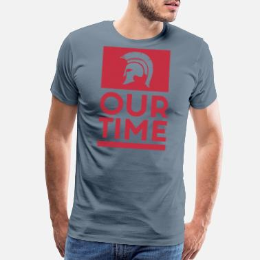 Greece Spartans OUR TIME - Men's Premium T-Shirt