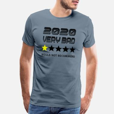 Baddest 2020 very bad year - Men's Premium T-Shirt