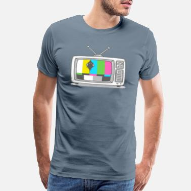 Watch Tv Watching TV - Men's Premium T-Shirt
