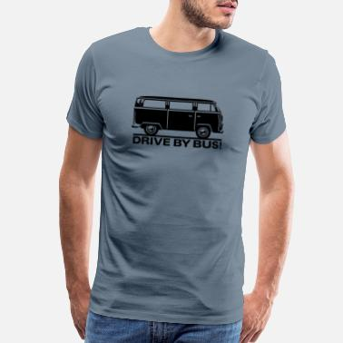 Minivan T2 - Drive by Bus - Men's Premium T-Shirt