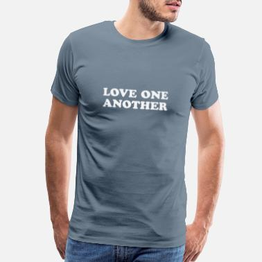 Mormon Love One Another - Men's Premium T-Shirt