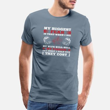 Pump Funny Fish Design Quote What I Told Her They Cost - Men's Premium T-Shirt
