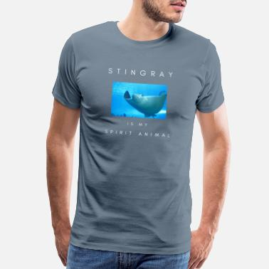 Characteristic Stingray Is My Spirit Animal - Men's Premium T-Shirt