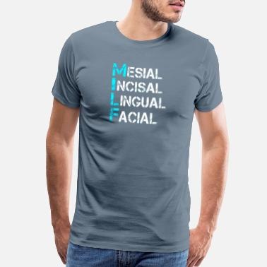 Best In Class Mesial Incisal Lingual Facial - Men's Premium T-Shirt
