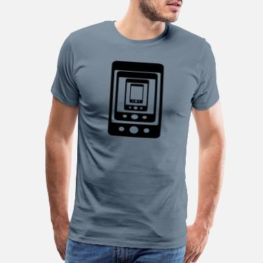 Cell Phone phone phone phone - Men's Premium T-Shirt