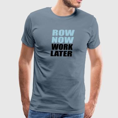 row - Men's Premium T-Shirt