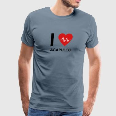 I Love Acapulco - Men's Premium T-Shirt