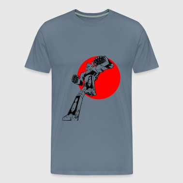 Daimos Gundam Japan - Men's Premium T-Shirt