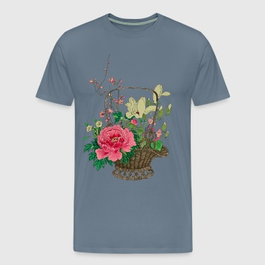 Japanese Ikebana - Men's Premium T-Shirt