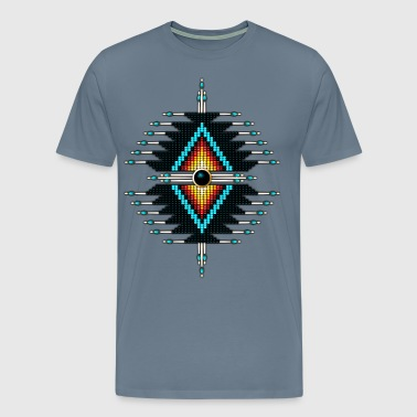 Native Sunburst 33 - Men's Premium T-Shirt