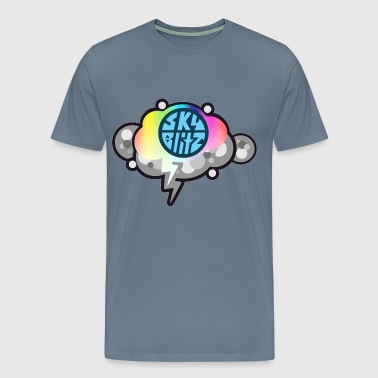 Sky blitz art - Men's Premium T-Shirt