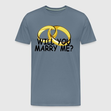 will_you_marry_me - Men's Premium T-Shirt