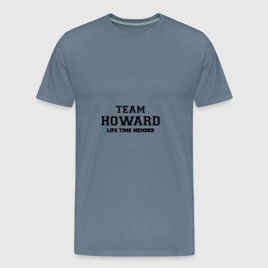 Team howard - Men's Premium T-Shirt