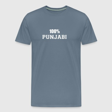 100% punjabi - Men's Premium T-Shirt