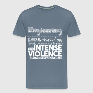 Engineering No Blue - Men's Premium T-Shirt