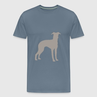 italian greyhound silo co - Men's Premium T-Shirt