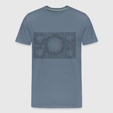 Random Binary Numbers 6 - Men's Premium T-Shirt