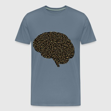 Prismatic Neural Network 2 4 Variation 2 - Men's Premium T-Shirt