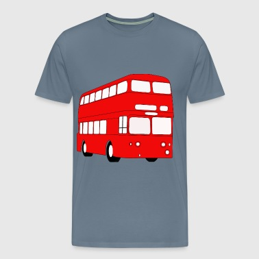 Double Decker London Bus - Men's Premium T-Shirt