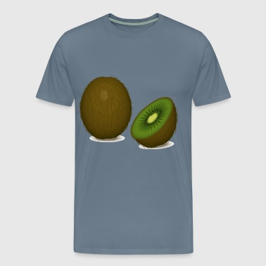 kiwi fruit - Men's Premium T-Shirt