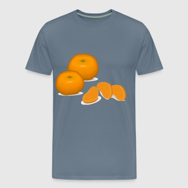 tangerines - Men's Premium T-Shirt