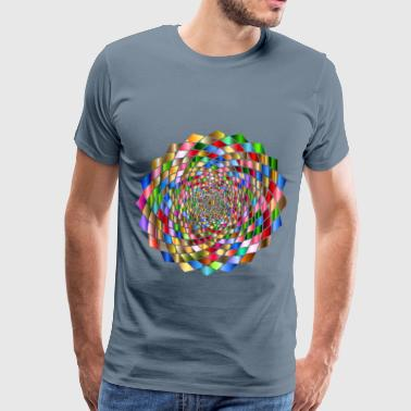 Chromatic Vortex - Men's Premium T-Shirt