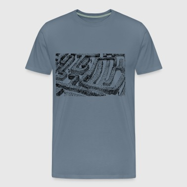 Hedge maze - Men's Premium T-Shirt
