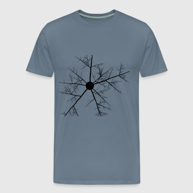 Abstract Branches - Men's Premium T-Shirt