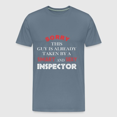 Inspector - Sorry this guy is already taken by a - Men's Premium T-Shirt