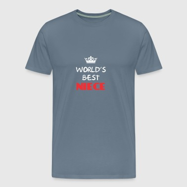 Niece - World's best Niece - Men's Premium T-Shirt