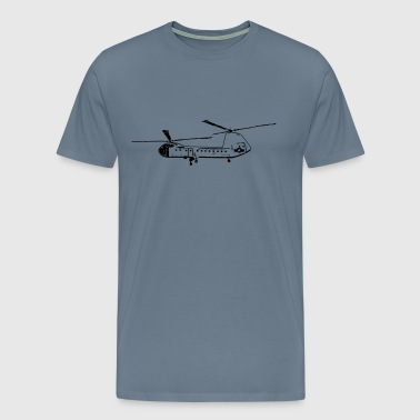Helicopter 2 - Men's Premium T-Shirt