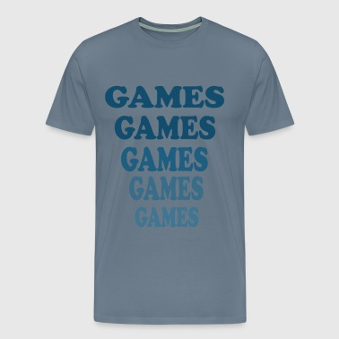 Adventureland - Games Games Games - Men's Premium T-Shirt