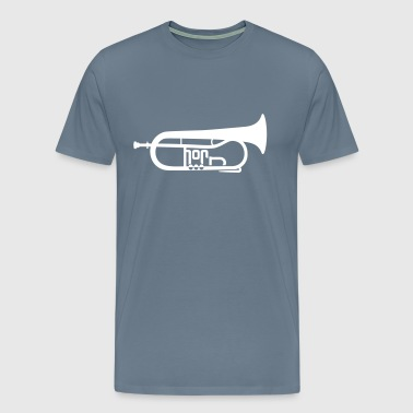 The Flugel Horn - Men's Premium T-Shirt